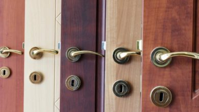 Photo of Types and Materials of Bedroom Doors