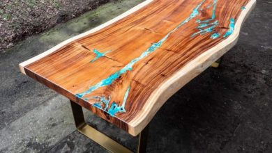 Photo of Is The Epoxy Resin Table Fad Here To Stay?